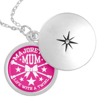 Majorette Mum Locket Necklace