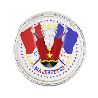 Majorettes Lapel Pin