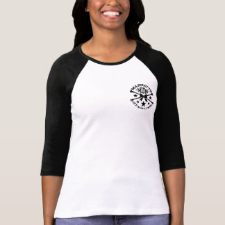 Majorettes, Majorette Mum, Crossed Batons T-Shirt