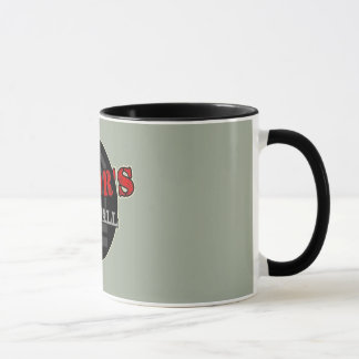 Majors Mess Hall Logo Coffee Cup