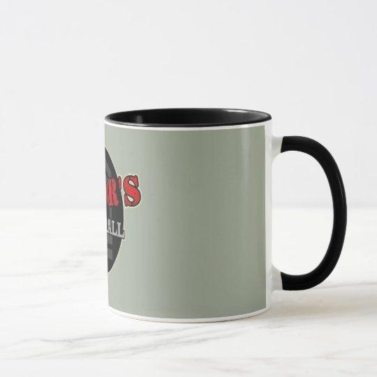 Majors Mess Hall Logo Coffee Cup