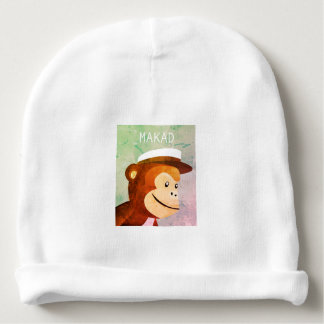 Makad the Urban Monkey Baby Beanie