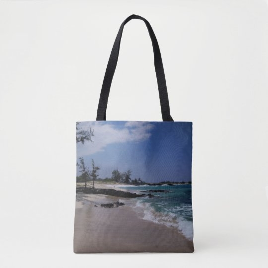 Makalawena Beach Tote Bag