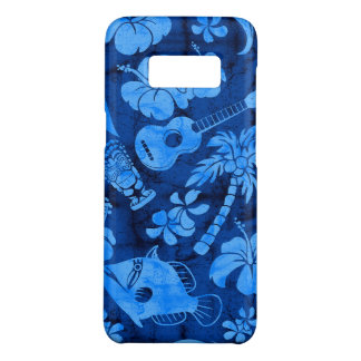 Makapuu Beach Hawaiian Batik Blue Case-Mate Samsung Galaxy S8 Case