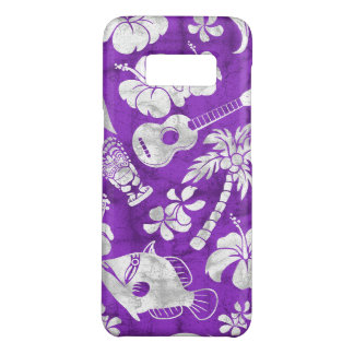 Makapuu Beach Hawaiian Batik Purple Case-Mate Samsung Galaxy S8 Case