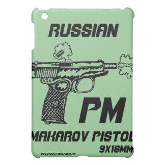 Makarov pistol shooting graphic art i pad case iPad mini cases