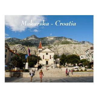 Makarska - Croatia Postcard