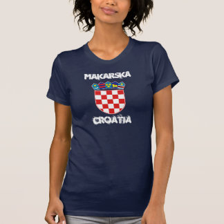 Makarska, Croatia with coat of arms T-Shirt