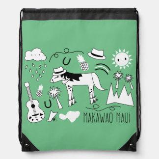 """Makawao Maui"" Bag Rucksacks"