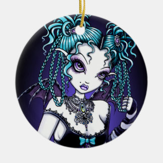 """Makayla"" Gothic Couture Fairy Ornaments"