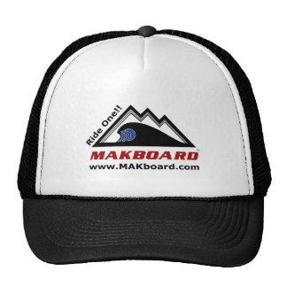 Makboard Snowboard  Promotional Hat - Black