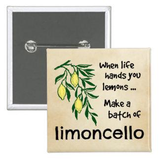 Make a Batch of Limoncello 15 Cm Square Badge
