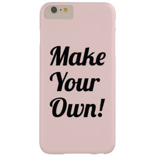 Make a Custom Printed Barely There iPhone 6 Plus Case