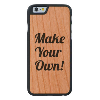 Make a Custom Printed Carved® Cherry iPhone 6 Slim Case