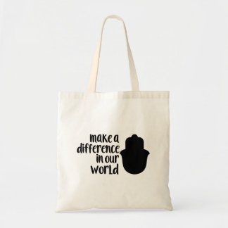 Make a Difference in our World Tote Bag