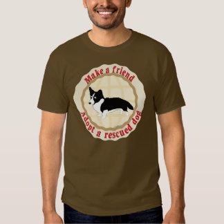 Make A Friend - Cardigan Welsh Corgi Shirts