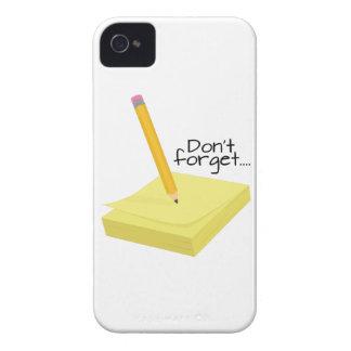 Make A Note Case-Mate iPhone 4 Cases