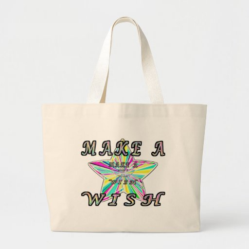 Make A Wish Canvas Bags