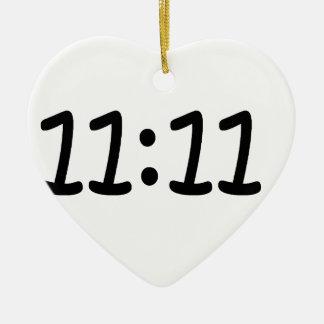Make a wish-Black Ceramic Heart Decoration