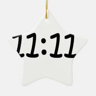 Make a wish-Black Ceramic Star Decoration
