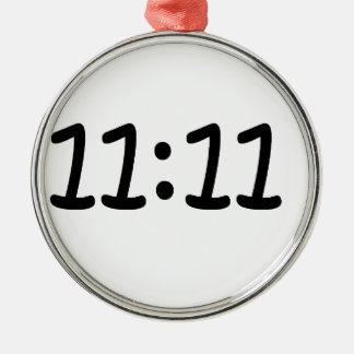 Make a wish-Black Silver-Colored Round Decoration