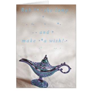 Make a wish! card