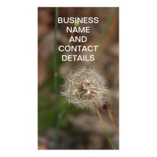 Make a Wish Dandelion Clock Pack Of Standard Business Cards