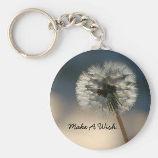 Make A Wish Keychain