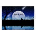Make a Wish on a Star Birthday Card