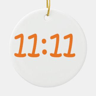 make a wish-orange round ceramic decoration
