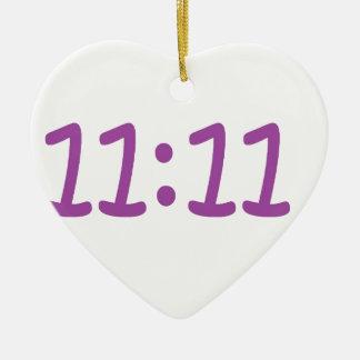 make a wish purple ceramic heart decoration