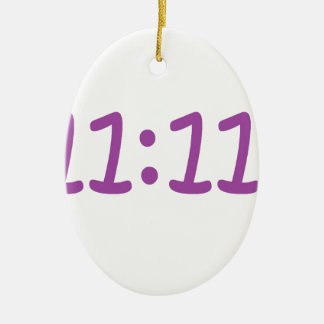 make a wish purple ceramic oval decoration