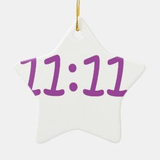 make a wish purple ceramic star decoration