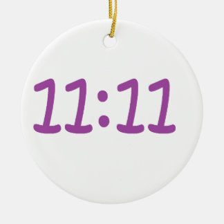 make a wish purple round ceramic decoration