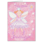 Make a Wish 'Special Granddaughter' birthday card