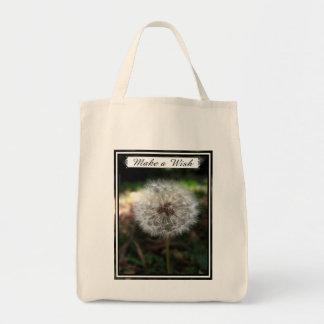 Make a Wish - Tote Grocery Tote Bag