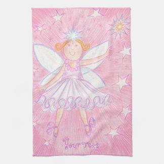 Make a Wish 'your text' kitchen towel