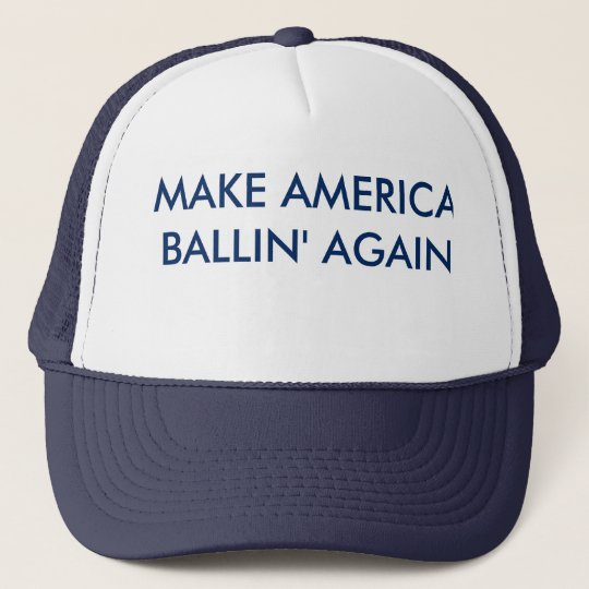 Make America Ballin' Again hat