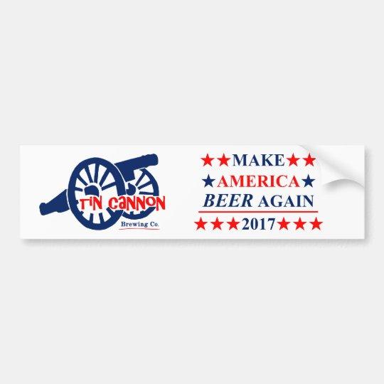 Make America BEER Again Bumper Sticker