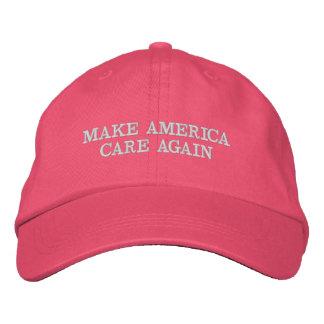MAKE AMERICA CARE AGAIN - MACA EMBROIDERED HAT