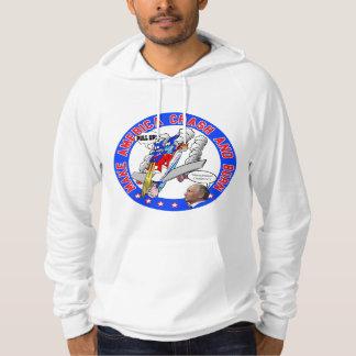 Make America Crash & Burn (FRONT & BACK design) Hoodie