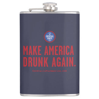 Make America Drunk Again Flasks