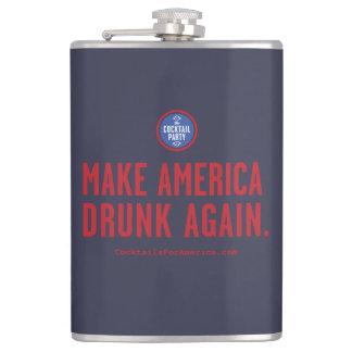 Make America Drunk Again Hip Flask