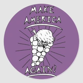 Make America Grape Stickers
