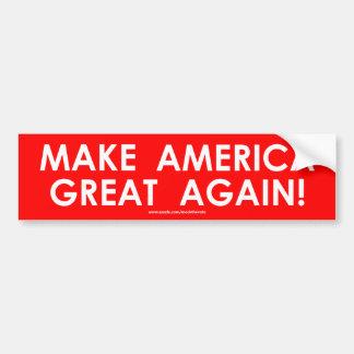 Make America Great Again - Bumper Sticker - Trump