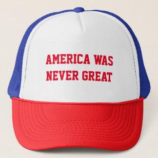 MAKE AMERICA GREAT AGAIN PARODY TRUCKER HAT