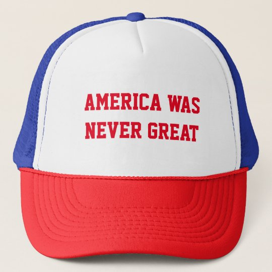 MAKE AMERICA GREAT AGAIN PARODY TRUCKER HAT
