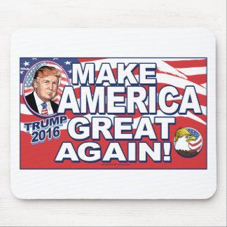 Make America Great Again Trump 2016 Mouse Pad