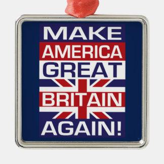 Make America Great Britain Again! Christmas Ornament