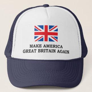 MAKE AMERICA GREAT BRITAIN AGAIN TRUCKER HAT